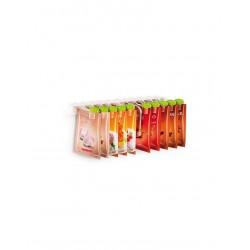 Násypky pro sáčky s kořením SEASON 10 ks, na závěsné liště