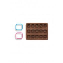 Formičky na čokoládu s vykrajovátky TESCOMA DELÍCIA KIDS, číslice