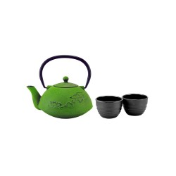 litinová Happa Midori na čaj 1000 ml + 2 šálky 100 ml