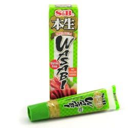 Wasabi pasta S&B Premium v tubě 43 g
