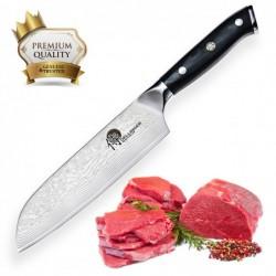 "nůž Santoku 7"" (170mm) Dellinger Samurai Professional Damascus"