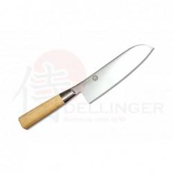 Santoku 167mm-Suncraft Senzo Bamboo-High carbon-japonský kuchyňský nůž