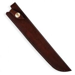 kožená Saya pro nůž Yanagiba/Sakimaru - Dellinger Octagonal Full Damascus