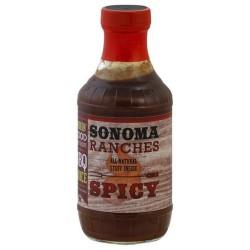 BBQ omáčka SONOMA Ranchers SPICY 455ml