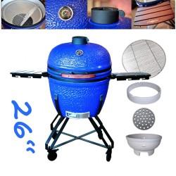 """keramický gril kamado Dellinger Smoke&Fire 26"""" modrý"""