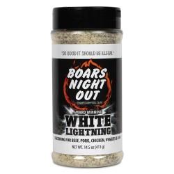 kořenící sůl Boars Night Out WHITE LIGHTNING 411g