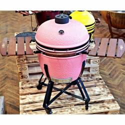 """keramický gril kamado Dellinger Smoke&Fire 23,5"""" růžový"""