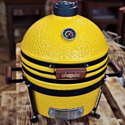 "keramický gril kamado Dellinger Smoke&Fire 16"" žlutý"