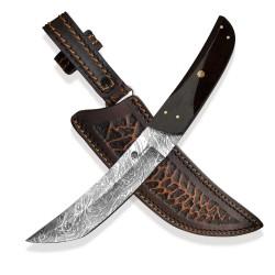 nůž Dellinger Damask Tanto Ebony Snake