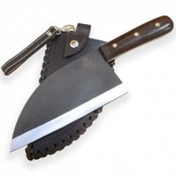 "srbský nůž Dellinger D2 Skogskock - ve stylu "" Almazan Kitchen"""