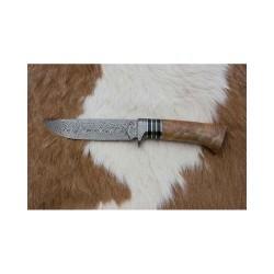 Kovářství Čurda, lovecký damaškový nůž. 386