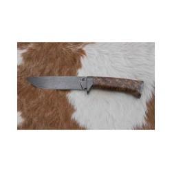 Kovářství Čurda, lovecký damaškový nůž. 420