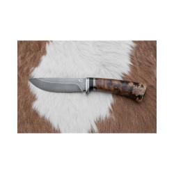 Lovecký damaškový nůž kovář Čurda č.466