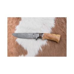 Lovecký damaškový nůž kovář Čurda č.482
