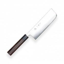 nůž Nakiri 165 mm - Hokiyama - Tosa-Ichi - Dark Octagonal