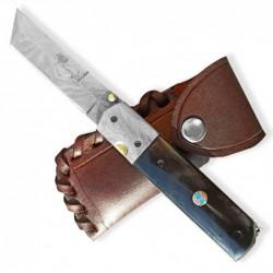 Lovecký zavírací damaškový nůž Dellinger TORUNN Tanto