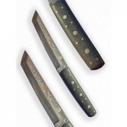 nůž Dellinger Damask Tanto Jute