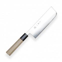 nůž Nakiri 165 mm - Hokiyama - Tosa-Ichi - White Octagonal