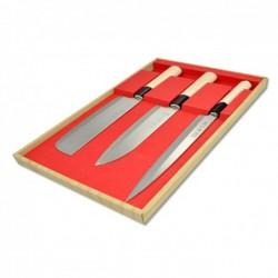 sada nožů - box 3 ks Sekyriu Japan