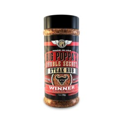 kořenící sůl BIG POPPA'S DOUBLE SECRET STEAK RUB 198g