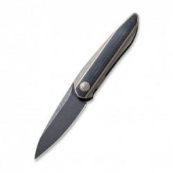 zavírací nůž WEKNIFE Black Void Opus - Bronze