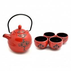 keramická konvička Akai na čaj 600 ml - 4 šálky