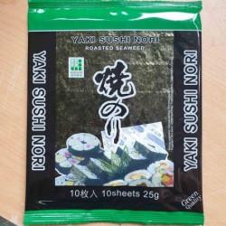 řasa na sushi Nori Green - 25g