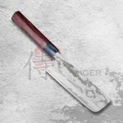 "nůž Nakiri 165mm Kanetsune Blue Steel ""Zen-Bokashi""-series"