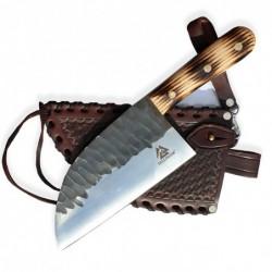 "BAZAR - srbský nůž Dellinger D2 ALMALIFE - ve stylu "" Almazan Kitchen"""