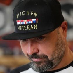 kšiltovka Kitchen Veteran - Flexfit Black