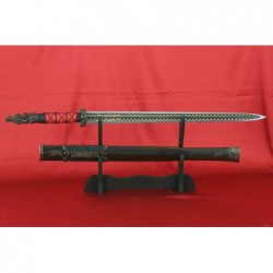 Ručně kovaný čínský meč Han Dynasty Jian od firmy Kawashima.