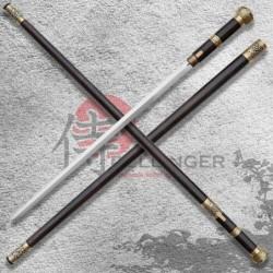 Mansyu Hidden Sword - Vycházková hůl s kordem - prodloužená