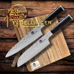 Mistrovská sada 2 nožů Tsuchime s magnetickým držákem