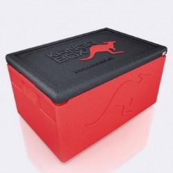 Kängabox termobox Expert mini červená