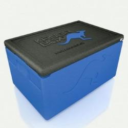 Kängabox termobox Expert mini modrá