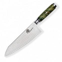 """Kiritsuke / Chef 8"""" (200mm) Dellinger LADDER-Green s kravičkou"""