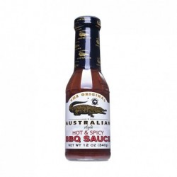 Original Australian BBQ omáčka - Hot & Spicy BBQ Sauce 355ml