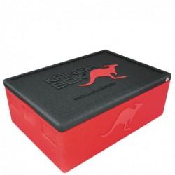 Kängabox termobox Expert 60x40 80l červený