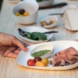 Cookplay Chikio Eko Yayoi přílohový talíř