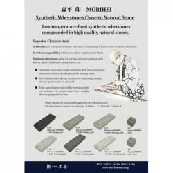 8000 brusný kámen KIYA MORIHEI - 210x75x25mm