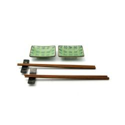 porcelánový servis na SUSHI - Celadon mini