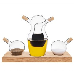 Cruet - Olej, ocet, sůl a pepř od Clap Design