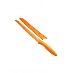 Antiadhezní nůž TESCOMA na chléb PRESTO TONE 20cm, oranžová